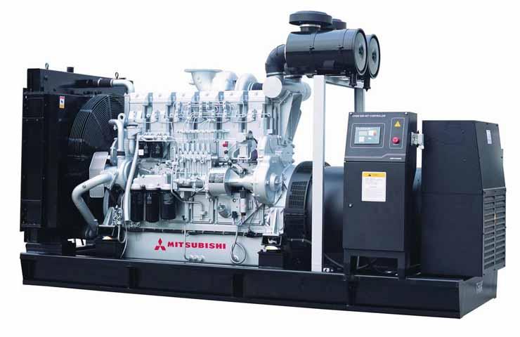 日本三菱柴油发电机组500kw以上的价格上调声明